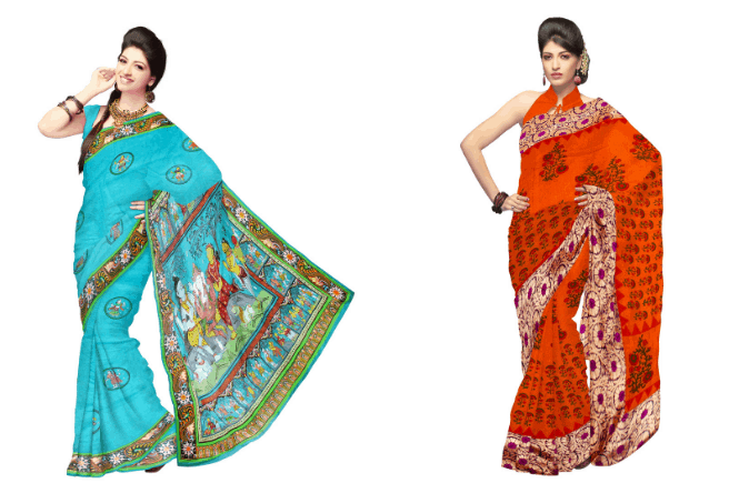 How to wear a saree step by step in 10 steps with Pictures