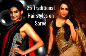Best Hairstyle On Saree For Party Top 10 Hairstyles For Medium And